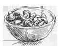 Picto champignons cuisinés
